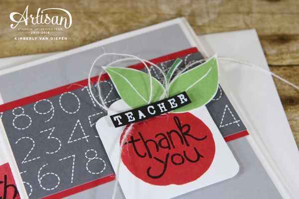 Teachers, Apple of My Eye, Stampin' Up!