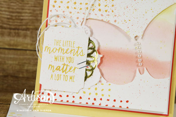 Little Moments, Watercolor Wings, Stampin' Up!