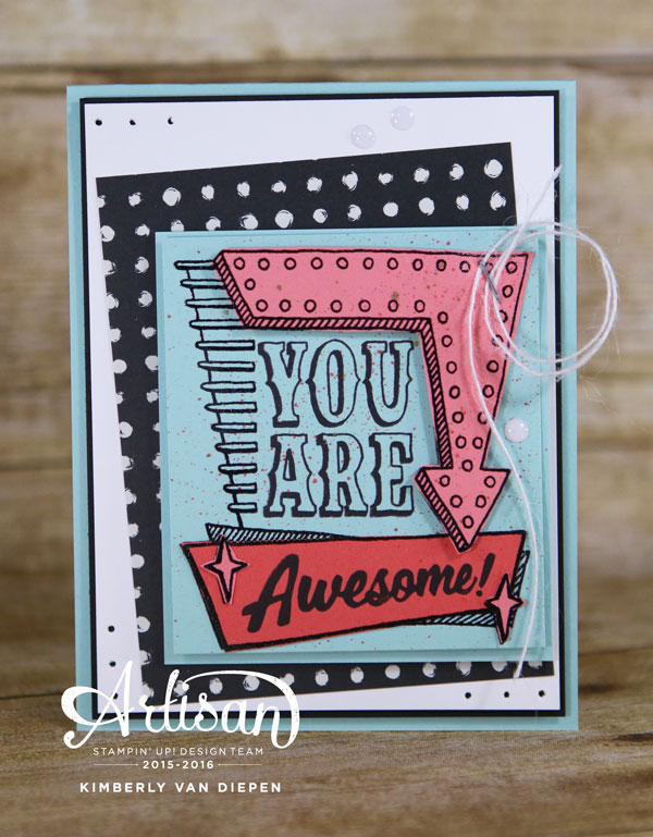 Playtime, Marquee Messages, Stampin' Up!