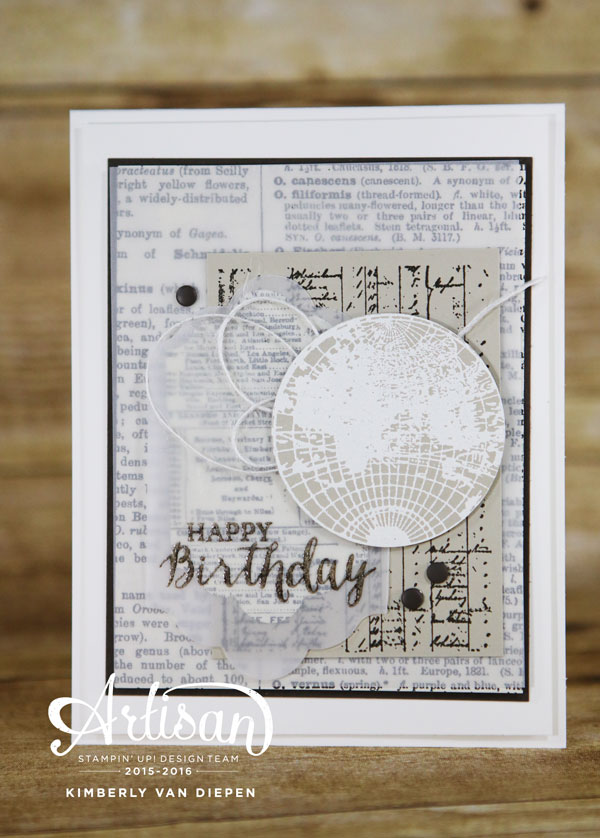 Open Sea, Stampin' Up!