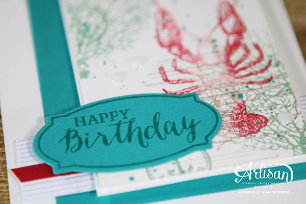 Celebrating, By the Tide, Stampin' Up!