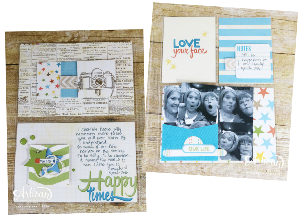 Project Life, Stampin' Up!, Kimberly Van Diepen