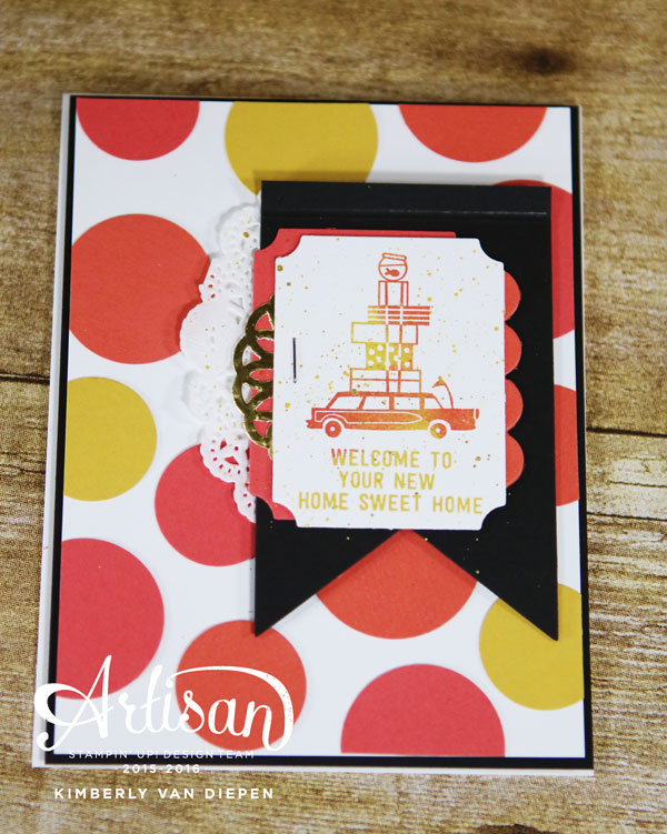 Color, Happy Notes, Stampin' Up!, Stampin' Up! Demo