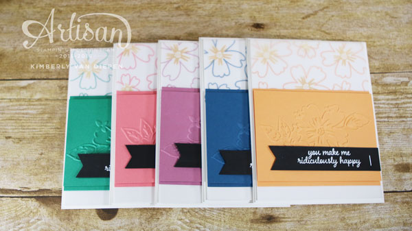 In Colors, Stampin' Up!, Artisan