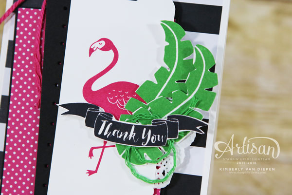 Flamingo, Pop of Paradise, Stampin' Up!