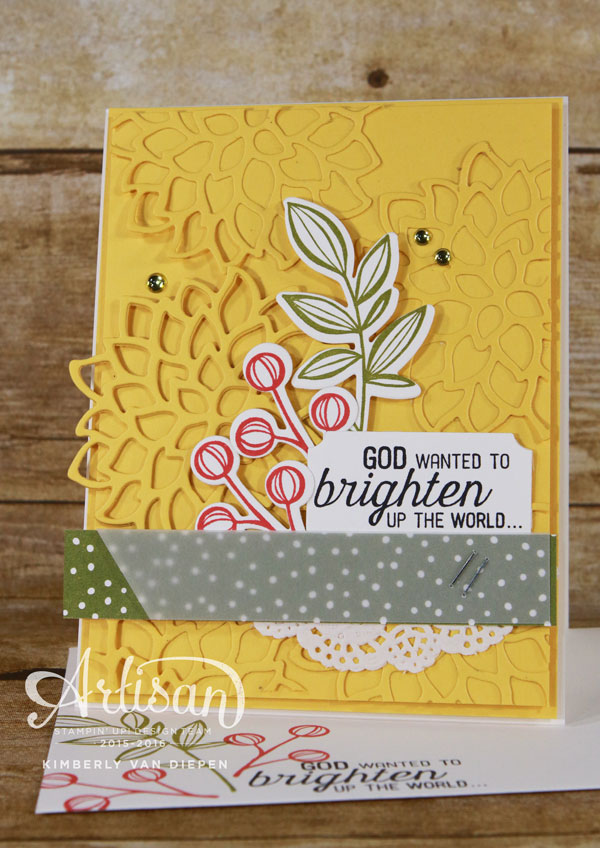 Technique, May Flowers Framelits, Stampin' Up!