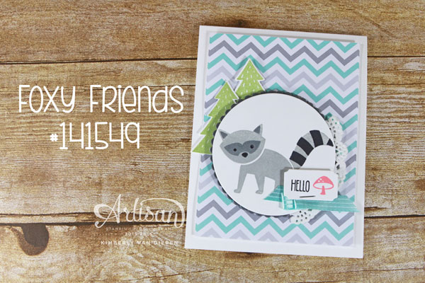 Foxy Friends, Stampin' Up!