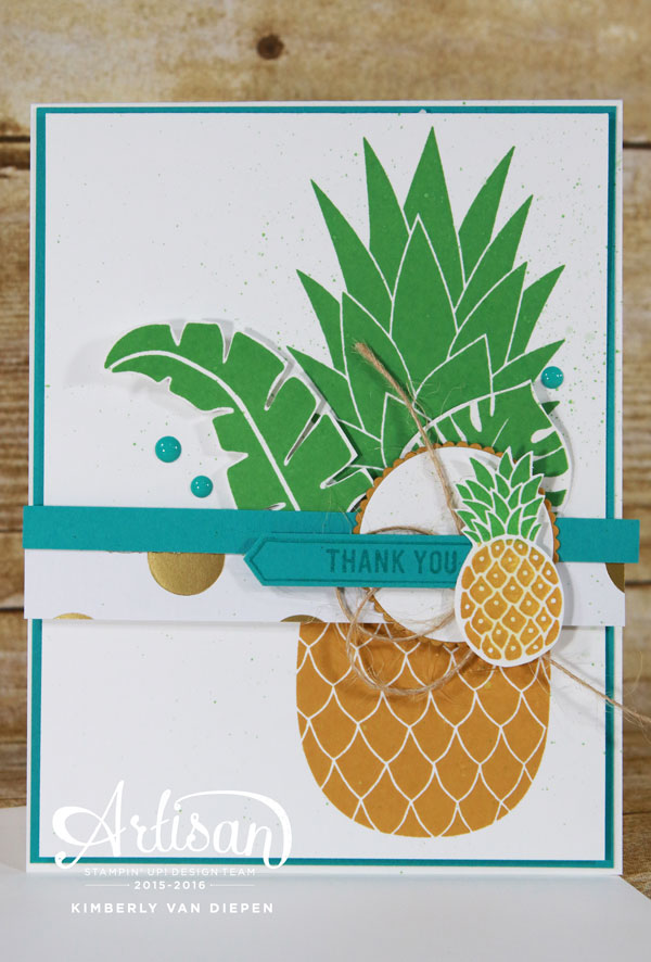 Pineapple, Stampin' Up!