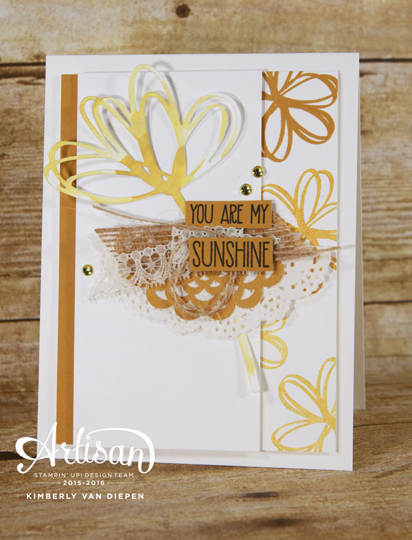 Sunshine Sayings, Stampin' Up!, Stampin' Up! Demo