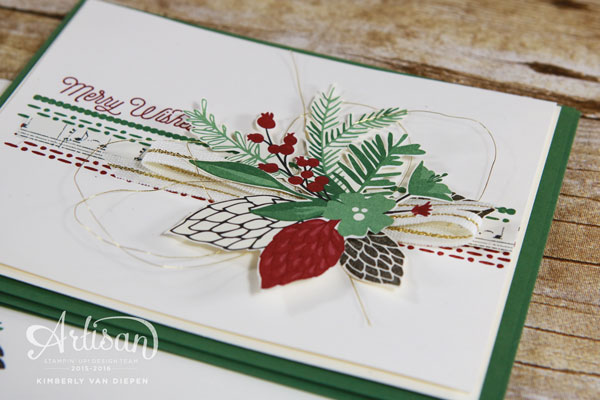 Christmas, Artisan, Stampin' Up!