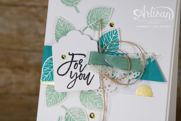 Thoughtful Branches, Stampin' Up!,