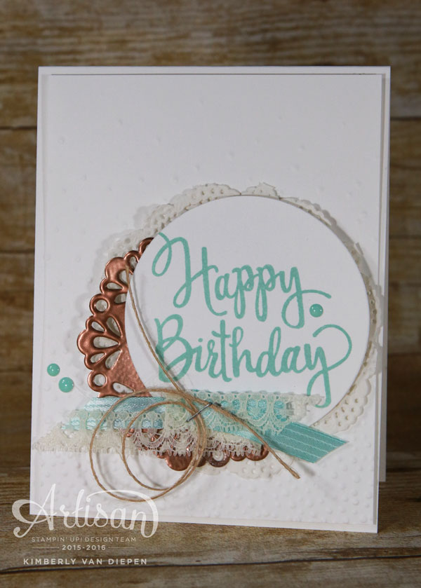 Celebrating, Stampin' Up!,