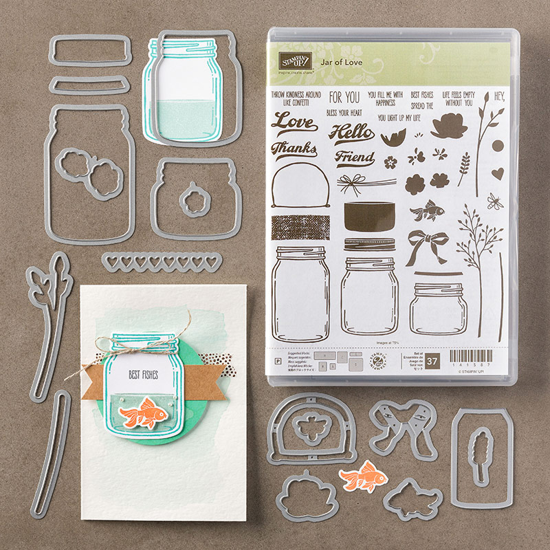 Stamps, Stampin' Up!, Jar of Love