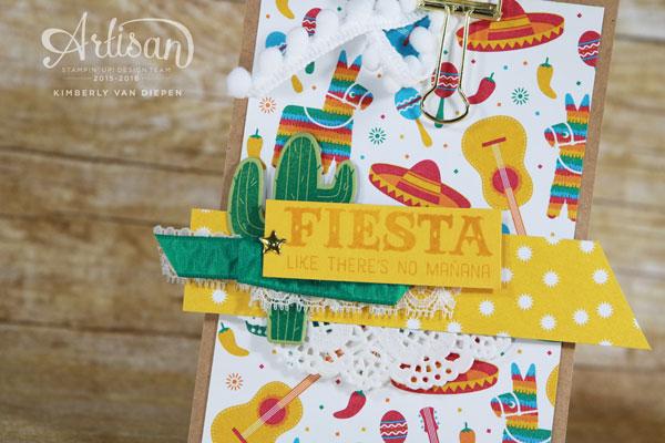 Fiesta, Stampin' Up!