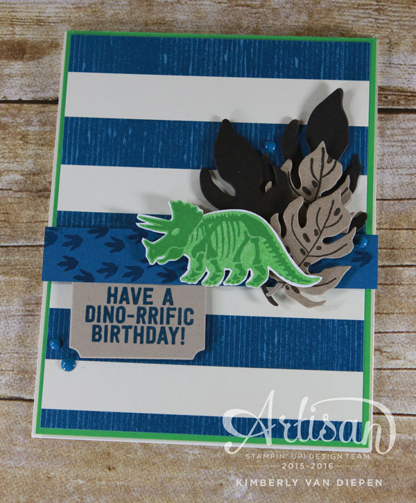 Dino-riffic, Stampin' Up!