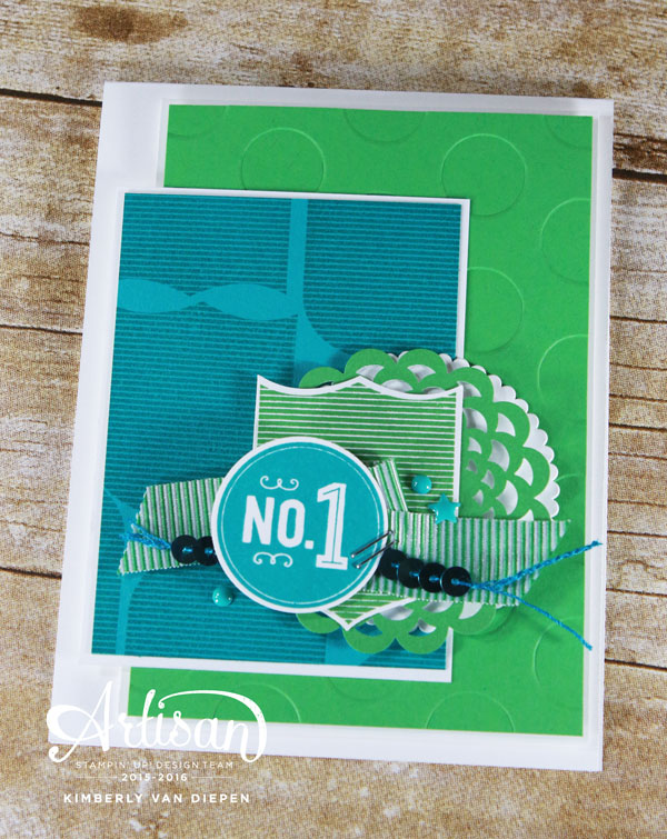 Trash, Badges & Banners, Stampin' Up!
