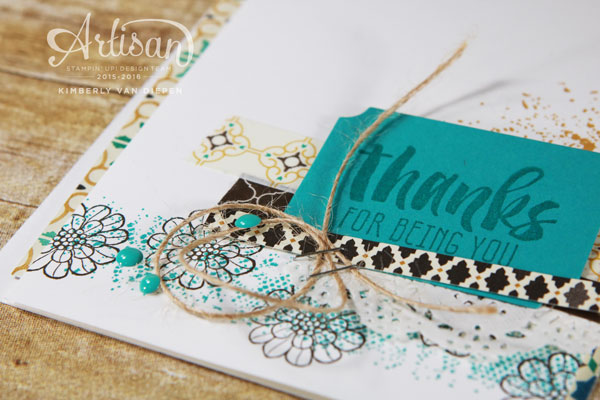 Touches of Texture, Stampin' Up!