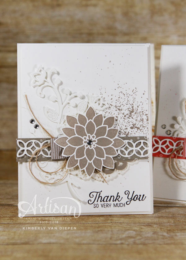 Texture, Stampin' Up! Artisan Design Team