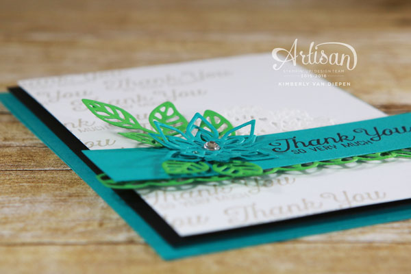 Artisan Blog Hop, Flourishing Phrases, Stampin' Up!