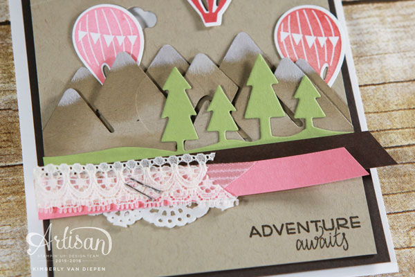 Chest Out, Chin Up, Stampin' Up!, Adventure Awaits