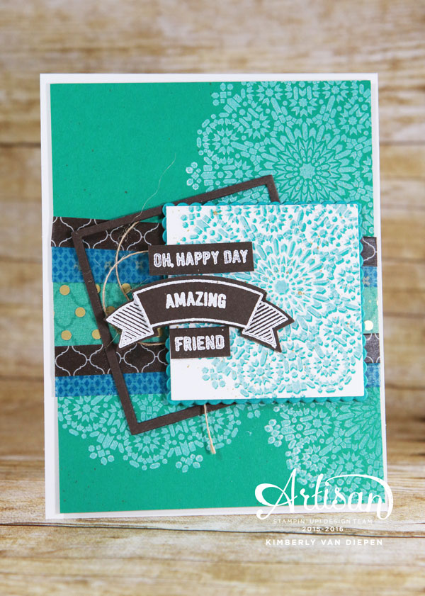 Fall, Stampin' Up!, Moroccan Suite