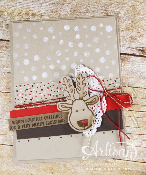 Decorative Masks, Stampin Up!, Cookie Cutter Christmas