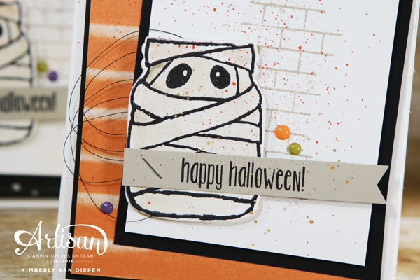 Simple Halloween Cards, Stampin' Up!