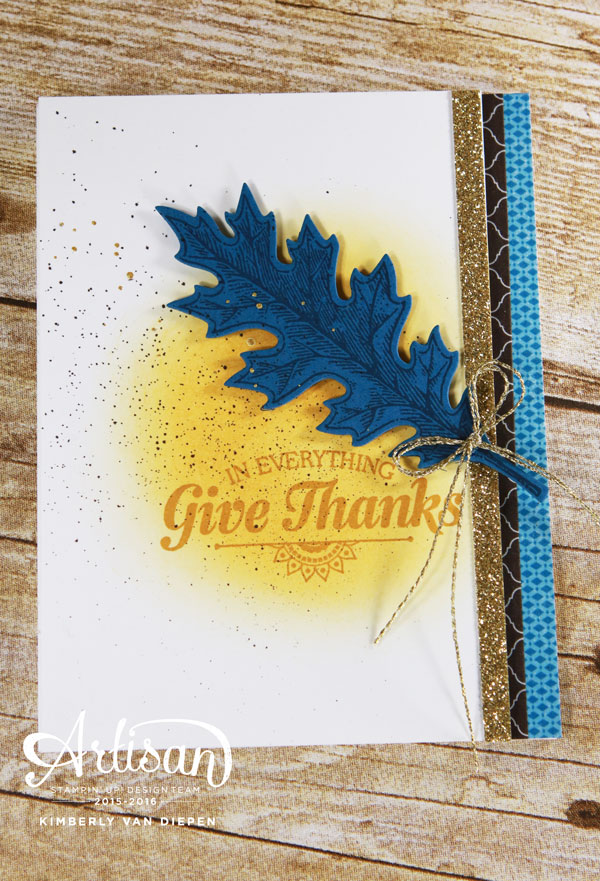 Fall Handmade Cards, Stampin' Up!