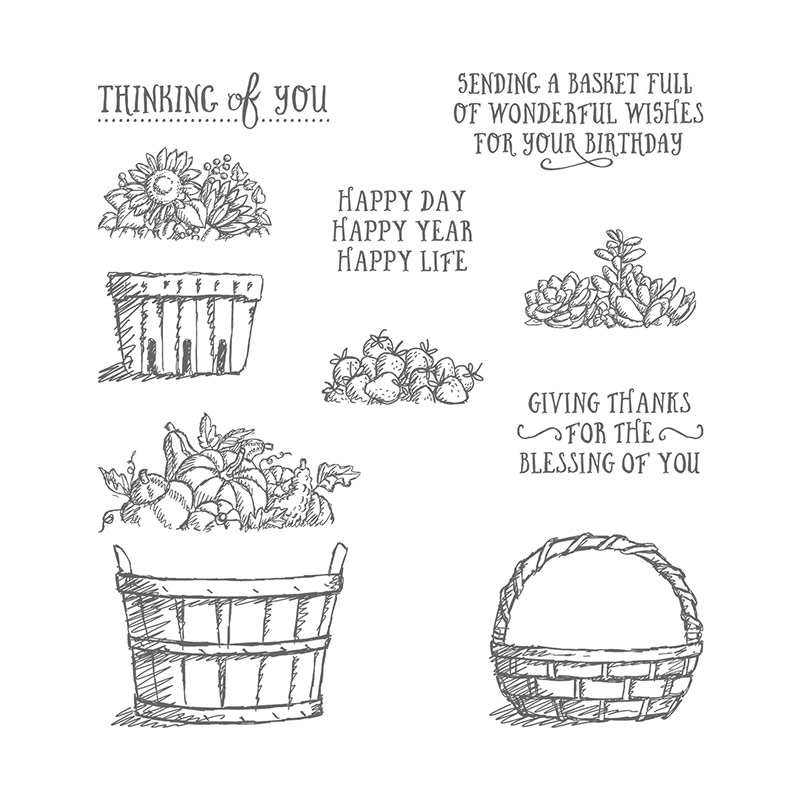Basket of Wishes, Stampin' Up!Basket of Wishes, Stampin' Up!