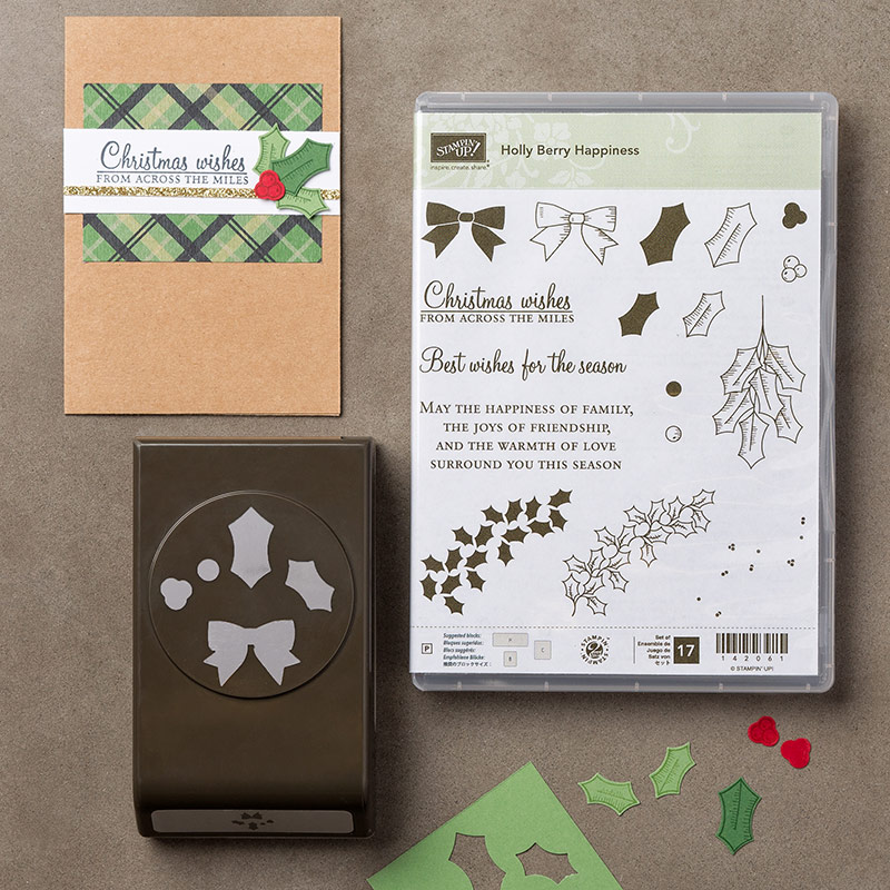 Christmas Cards, Holly Berry Happiness, Stampin' Up!