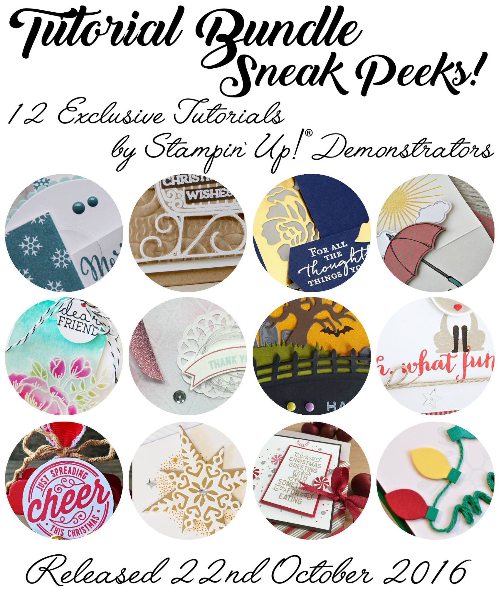 Exclusive Tutorials, Stampin' Up!