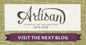 Stitching Framelits, Stampin' Up!, Artisan Hop