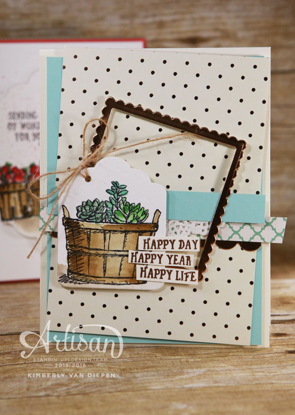 Basket of Wishes, Stampin' Up!