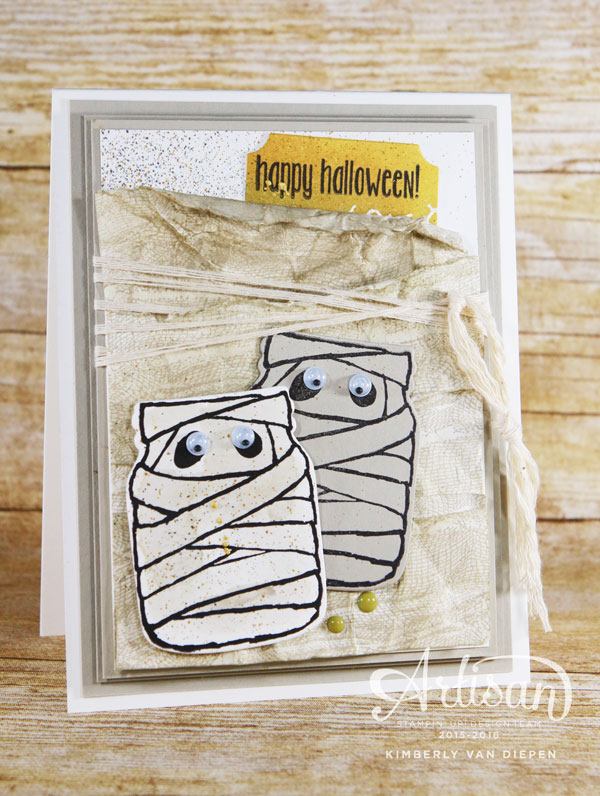 Halloween Party Idea Using Die Cuts, Stampin' Up!