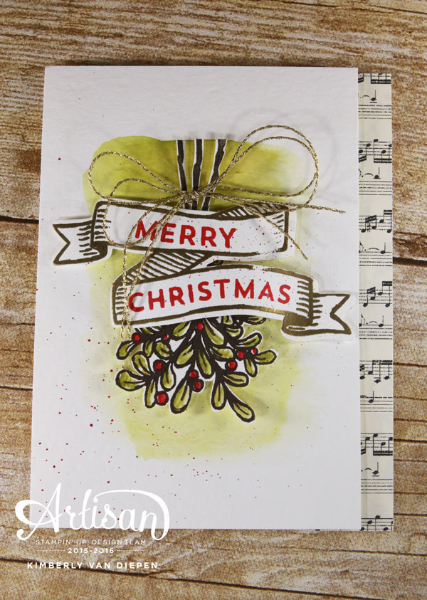 Banners for Christmas, Stampin' Up!