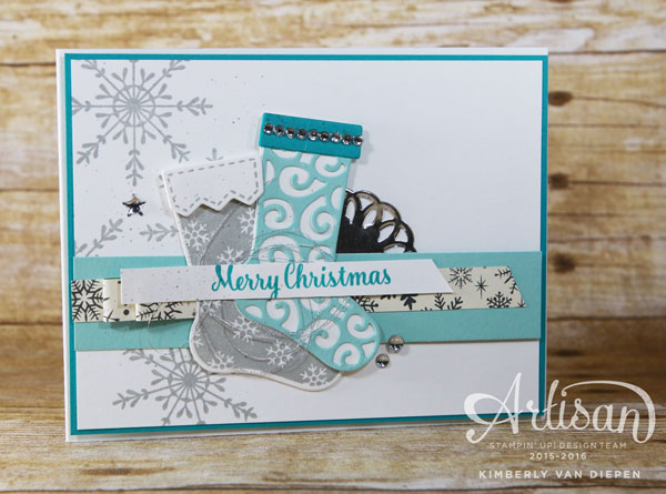 Escape the Crazy, Hang Your Stocking, Stampin' Up!