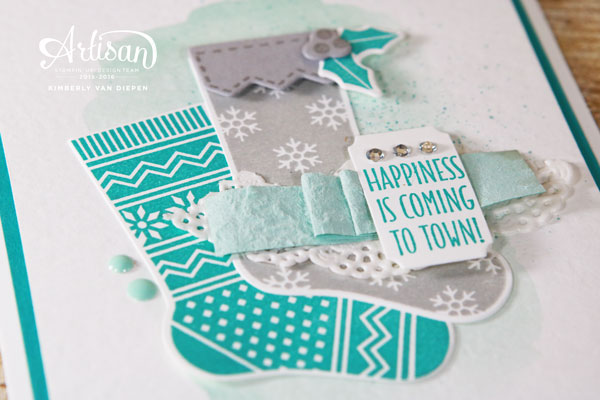 Create Felt Ribbon, Stampin' Up!