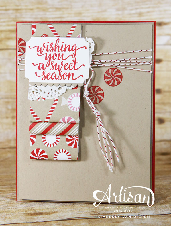 Creating Paper Loops, Stampin' Up!