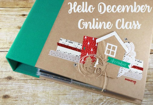 Hello December Online Class, Stampin' Up!