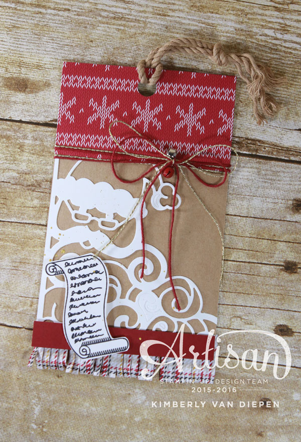 Glitter Candy Cane, Stampin' Up!