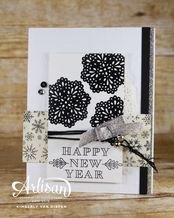 Frosted Medallions, Stampin' Up!, Artisan