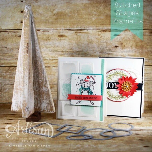 Stitched Framelits, Stampin' Up!, Artisan Hop