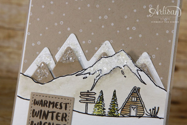 Mountains, Stampin' Up!,