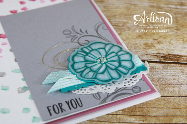 Falling Flowers, Stampin' Up!