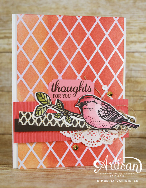 Best Birds Stamp Set, Stampin' Up!