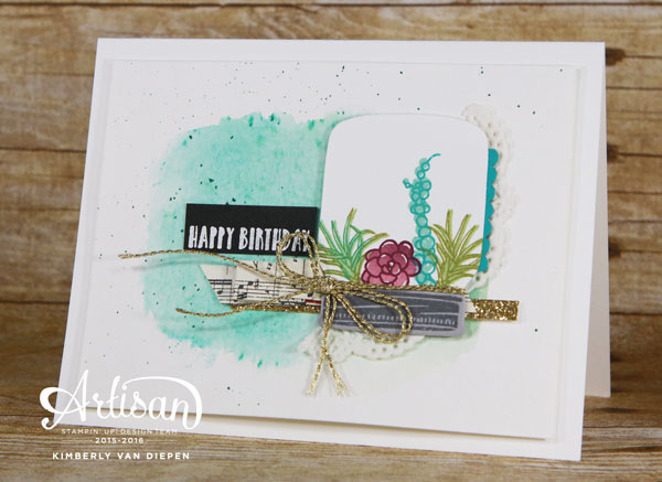 Oh So Succulent, Stampin' Up!