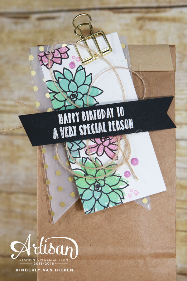 Jolliness, Oh So Succulent Stamp set, Stampin' Up!