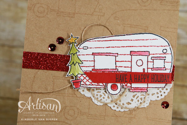 Glamper Greetings, Stampin' Up!