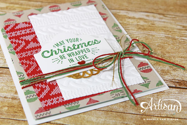 Wrapping Christmas, Wrapped in Warmth Stamp Set, Stampin' Up!