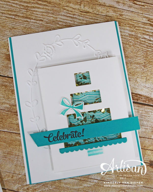 Shake & Celebrate, Stampin' Up!, Birthday